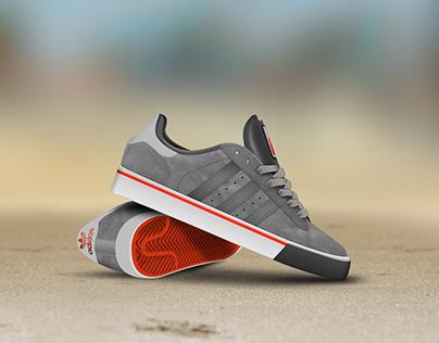 Adidas Sneaker Icon/Illustration