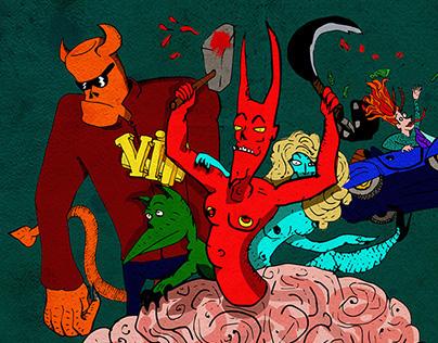 Bureaucrat - Demons in the head