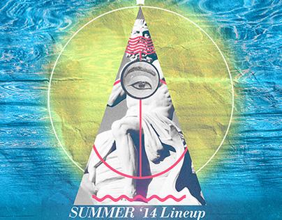 Sun-Dazed Summer '14 Lineup