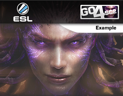 ESL - Starcraft 2 Section - New Graphic Line 2014