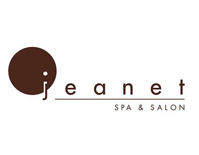 Jeanet Spa & Salon Branding