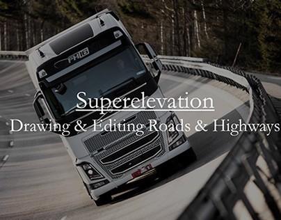 InfraWorks: Superelevation Model Projections