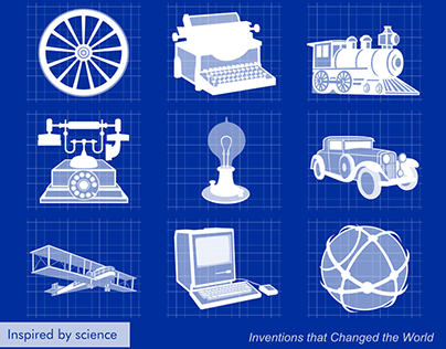 Greatest World Inventions for Prosto Science project