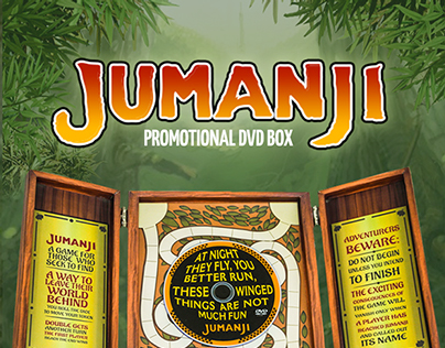 Jumanji Promotional DVD Box