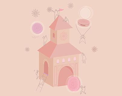 品牌宣傳|Illustration for CLINIQUE