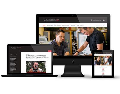 Universidad Diego Portales - Diseño Web Responsive