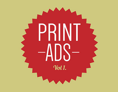 Print AD Collection Vol.1
