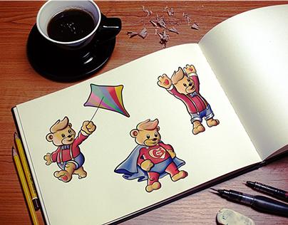 Garmy Kids Afteschool - Illustrative Logo Design