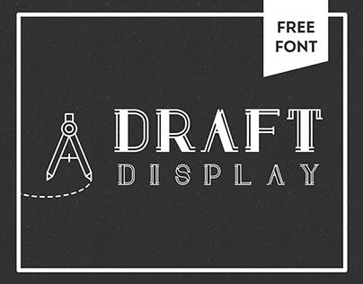 Draft Display: FREE FONT