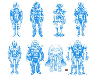 concepts art  jan - june '14