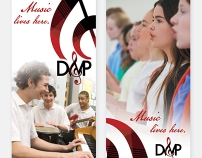 DW Poppy Band Room Banners