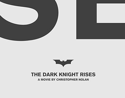 RISE   Batman Tribute Poster