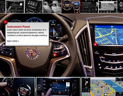 Cadillac CUE website