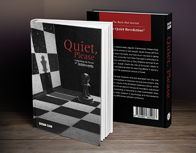 Quiet Please (Book Cover) Reworked