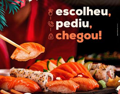 Social Media | Aloha Sushi - Comida Japonesa