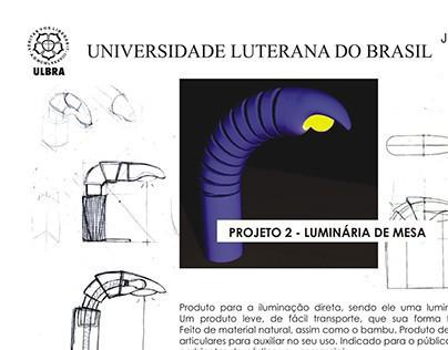 Projeto II: Luminária de Mesa