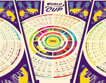 World Cup Fixtures Poster