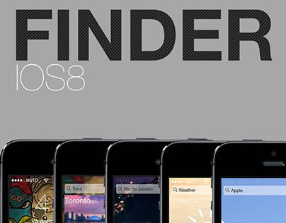 Finder IOS8 Design