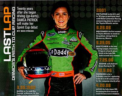 PRINT: Sports Illustrated NASCAR Danica Patrick