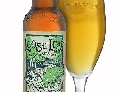 Odell brewing Co. - Loose Leaf packaging