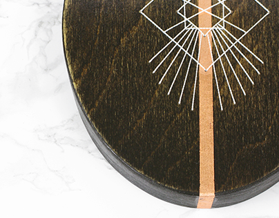 Wood Embroidery : Ovals