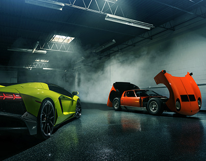 Evolution of the Lamborghini V12