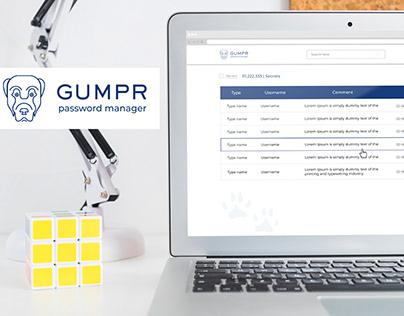 Gumpr Password Manager