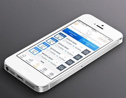 IOS app Design baby sitter booking