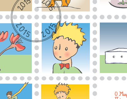 "Little Prince ""postage stamps"""