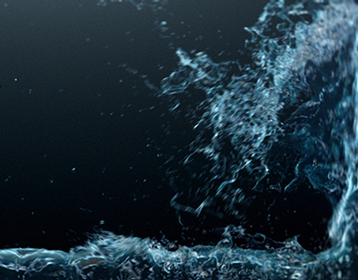 Hybrido Simulation in Realflow 2013