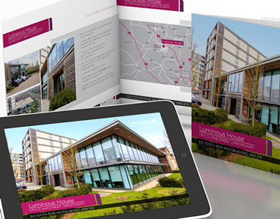 Commercal property brochure and iPad app