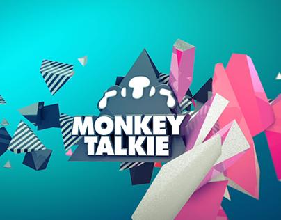 MONKEY TALKIE - Logo animation