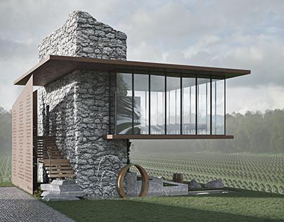 Wine pavilion