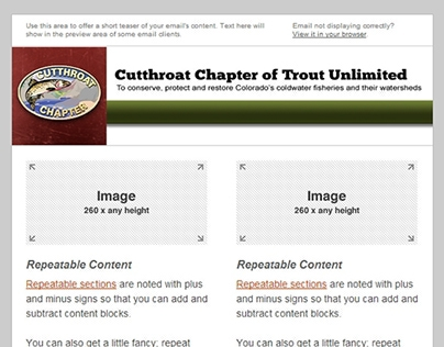 Cutthroat Chapter of Trout Unlimited Newsletter