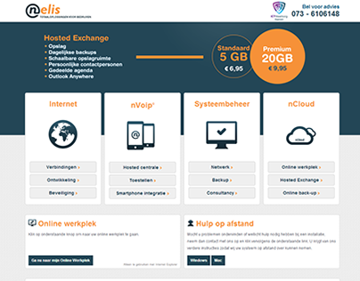Website Nelis IT Services
