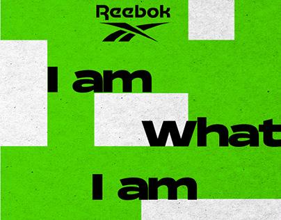 Reebok 'I Am What I Am'Campaign Refresh