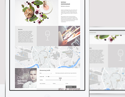 Ancora Restaurant Website