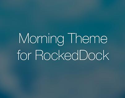 Morning RocketDock Theme for Windows 8.1