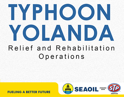 SEAOIL Infographic Updates Typhoon Yolanda Reliefs