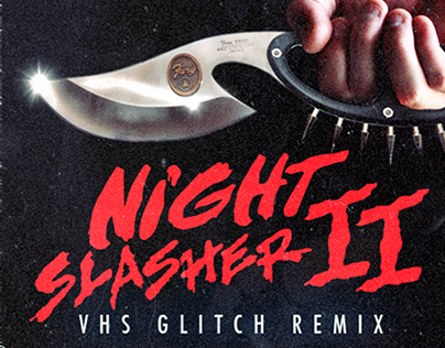 Lueur Verte - Night Slasher (VHS Glitch Remix) COVER