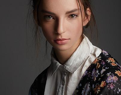 Model Test - Sophie at Major Model Management NYC