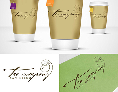 Tea House Branding System