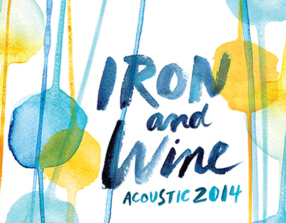 Iron and Wine Tour Poster