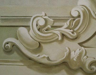 Detachment of a fresco