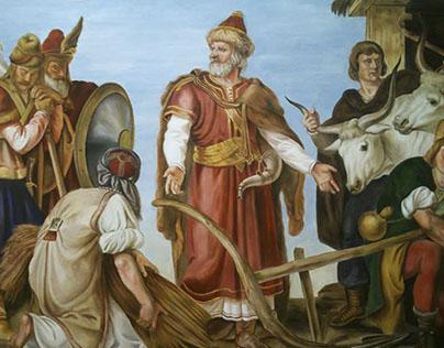 Copy after Than Mór (fresco buono)