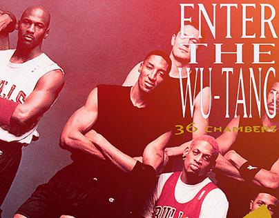 Rap Album Covers x NBA Players