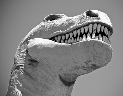 Photo - Claude Bell's Dinosaurs