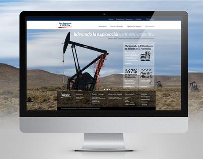 Pan American Energy - Website