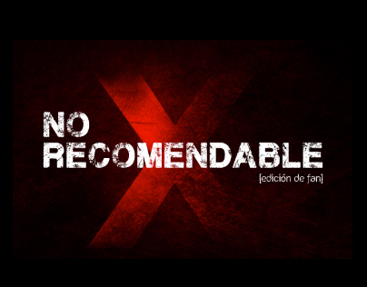 CD - NoXRecomendable (edición de fan)
