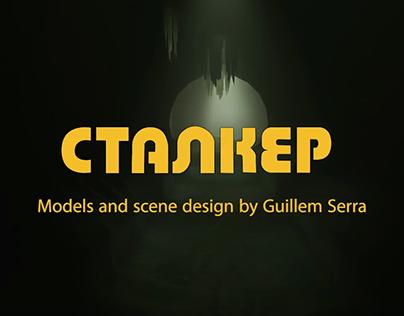 STALKER - Bunker 4 3D Recreation